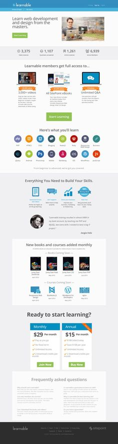 Learnable -  Landing Page