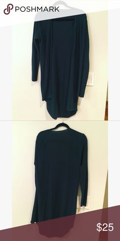 Brandy Melville Cardigan Sweater Hunter green color. Good condition! Minimal to no pulling of fabric. Brandy Melville Sweaters Cardigans