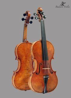 Violin by Dmitry Badiarov, October 2009, original model based on late Giuseppe Guarneri Del Gesu.
