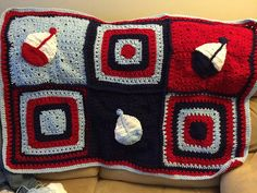 Ravelry: fedders' Nautical Baby Blanket