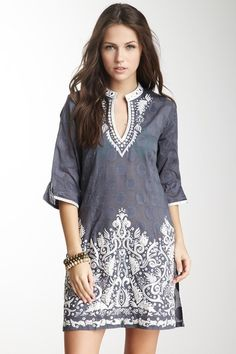 Bella Sequin Tunic evening Indian tunics are perfect for women's ...