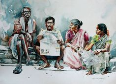 Watercolour Paintings By Rajkumar sthabathy (Part - II) on Behance