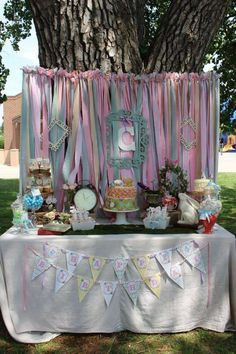 Vintage Alice in Wonderland Birthday Party Ideas | Photo 2 of 42 | Catch My Party