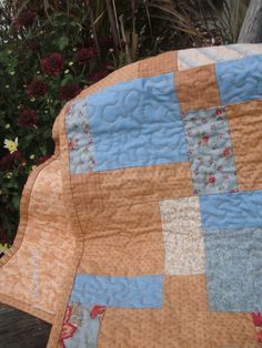 its a quilted table runner - but would make a cute quilt