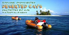 Guided Mini Boat Tour. Snorkel on an islands. $150 (own boat)  (We drive, no guide) from mainland