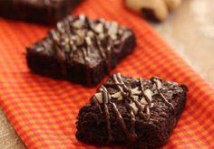 Brownie de tapioca com castanha-do-pará e chia é funcional