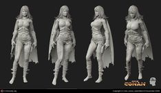 Thief : Conan Game Cinematic by Sze Jones | 3D | CGSociety