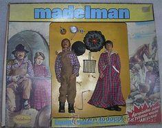 ¡LOS ORIGINALES! MADELMAN DIFICIL COLONOS OESTE EN CAJA TODO ORIGINAL MADEL S.A, AÑOS 80. NO REPROS.