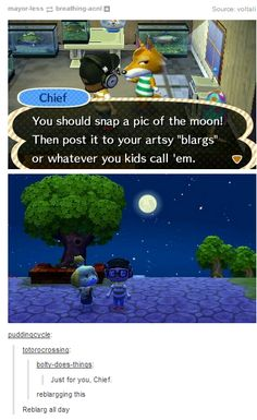 Animal Crossing New Leaf: Artsy Blarg Tierkreuzung Neues Blatt: Artsy Blarg The post Tierkreuzung Neues Blatt: Artsy Blarg appeared first on Rose Dickson. Best Picture For jogando Video Games For Your Animal Memes, Funny Animals, Cute Animals, Video Game Memes, Video Games, Ted Talks, Cool Pictures, Funny Pictures, Animal Crossing Funny