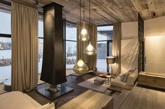 The Wiesergut boutique hotel in Hinterglemm, Austria is located on a ski resort and is an excellent choice if you love modern design.