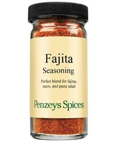 A tasty, Mexican-style marinade for tacos or fajitas. Taco Salad Shells, Pasta Salad, Fajita Seasoning, Herb Recipes, Peppers And Onions, Cayenne Peppers, Fajitas, Cooking Time, Tacos