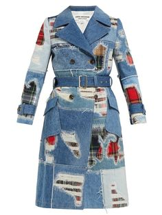 exclusive shoes for whole family closer at 14 Best Denim trench coat images in 2019 | Denim trench coat ...