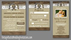 You searched for Horse shoe - Vintage Rustic Wedding Invitations