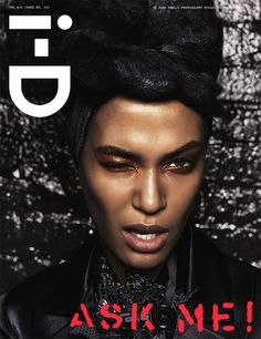 Joan Smalls- i-D Magazine Cover [United Kingdom] (April 2013)