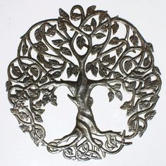 """Tree of Life Wall Art Tree Outdoor Wall Hanging Decor Decorating The Home 24"""" 