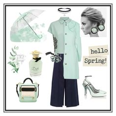 """""""Happy Spring!"""" by when-wear-what ❤ liked on Polyvore featuring Alexander Wang, Dolce&Gabbana, Jaeger, Zeus+Dione, Balenciaga and City Chic"""