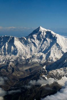 Mount Everest, China Side | Stunning Places #Places