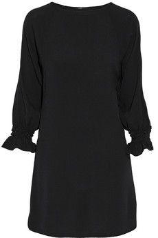Maje Realiste textured-crepe mini dress   NET-A-PORTER