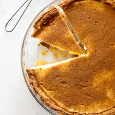 Milk tart with creamy filling and a homemade crust is a South African classic. Perfect as dessert or served for tea time. Tart Crust Recipe, Pie Dough Recipe, South African Desserts, South African Recipes, Salted Caramel Fudge, Salted Caramels, Milk Tart, Tart Filling, Tasty Kitchen