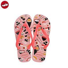 Tongs Femme Multicolore (White/Shocking Pink) 41/42 EUHavaianas QE0lssr7o1