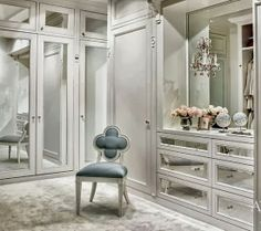 Glamour closet with chandelier future HOME Pinterest Glamour
