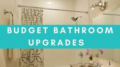 BUDGET BATHROOM UPGRADES | Small Space Makeover