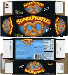 J&J Snack Foods - Super Preztel - frozen snack box - 2010 Barbie Food, Doll Food, Doll House Crafts, Doll Crafts, Barbie Miniatures, Dollhouse Miniatures, Ag Dolls, Barbie Dolls, Paper Toys