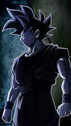 Super Instinct Son Goku Dragon Ball Super Smartphone Wallpaper Black and White Dragon Ball Gt, Goku Dragon, Akira, Kuroko, Sailor Moon, Manga Anime, Dragonball Super, Db Z, Dbz Characters