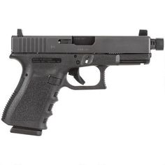 "GLOCK 23 Gen 3 Semi Automatic Handgun .40 S&W 4.02"" Threaded Barrel 13 Rounds Polymer Black PI2350203-TB - 764503911262"