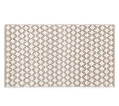 Diamond Wool Rug - Ivory #potterybarn