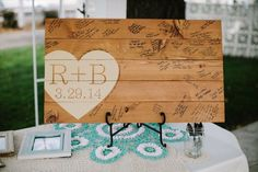 The Picnic Table - Sign Me: 20 Creative Wedding Guest Book Ideas - EverAfterGuide