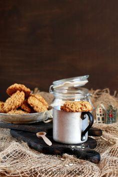Kokosowe ciastka owsiane
