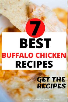 Buffalo Chicken Dip - The Best Ever - These easy buffalo chicken dip recipes tastes incredibly delicious! Makes the perfect appetizer to bring to any cookout, holiday party or family gathering! The best and easiest party appetizers to make any party a success! Easy make-ahead party appetizer recipes to feed a crowd! #dips #diprecipes #buffalochicken #buffalochickendip #appetizers #appetizerrecipes #crockpot #crockpotrecipes #crockpotappetizers #recipes #buffalochickendip #buffalodip… Best Party Appetizers, Best Appetizer Recipes, Cold Appetizers, Ww Recipes, Buffalo Chicken Dip Recipe, Chicken Dips, Healthy Chicken Recipes, The Best, Crowd