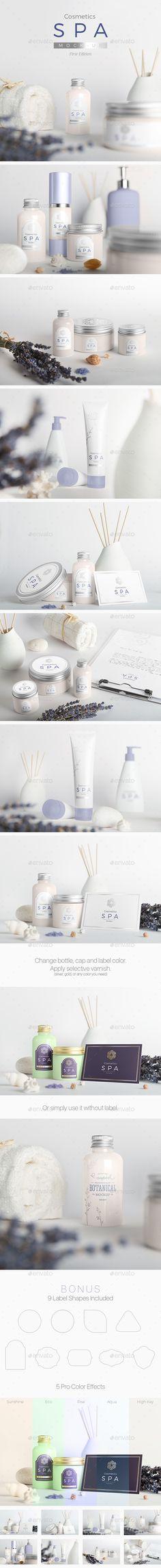 SPA Cosmetics Mock-Up. Download here: http://graphicriver.net/item/spa-cosmetics-mockup-v1/14697437?ref=ksioks