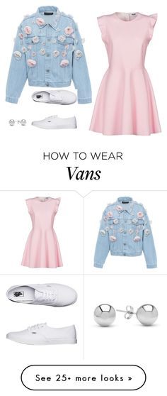 """""""Untitled #965"""" by alwateenalr on Polyvore featuring Anouki, MSGM, Vans and Jewelonfire"""
