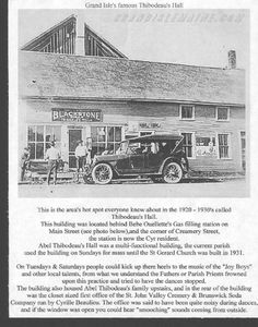 Presque isle, maine Northern Maine, Grand Isle, Filling Station, Main Street, See Photo, Usa, History, Beautiful, Historia