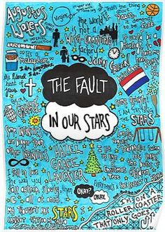The Fault in Our Stars Collage Poster