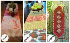 A Fabulous Fat Quarter | Fabulous DIY Table Runners