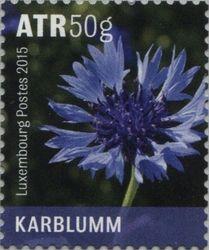 Luxembourg 2005. Wild Flowers - Cornflower