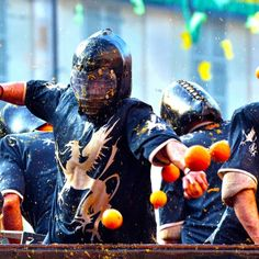 Ivrea is now famous for the Battle of the Oranges that makes its pre-Lent carnival unique. Ivrea uses its carnival to tell an allegorical version of its history.