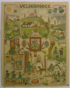 Slovak Language, Stamp Carving, Children's Book Illustration, Mythology, Childrens Books, Illustrators, Fairy Tales, Vintage World Maps, Calendar
