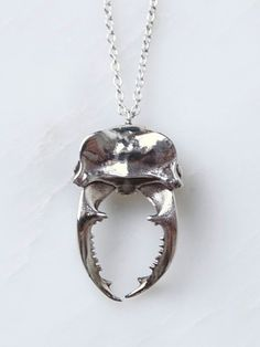 RACHEL BOSTON - Small Silver Stag Necklace