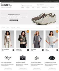 Socute  Beautiful E-Commerce Theme