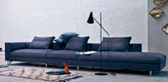 Eilersen / Contemporary Customizable Sofas // Mscape Modern Interiors Big, configurable sectional!