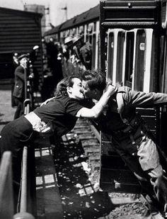 Wartime farewell.