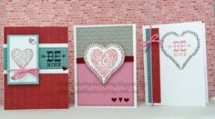 CTMH Heartstrings cards using Heartstrings WOTG Cardmaking