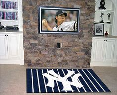 Show your team pride and add style to your tailgating party with FANMATS area rugs. nylon carpet and non-skid DuragonTeam Name: MLB - Kansas City Royals. Yankees Nursery, Entry Mats, Plush Area Rugs, Bear Rug, 4x6 Rugs, Nfl Dallas Cowboys, Houston Texans, Pittsburgh Steelers, Nylon Carpet