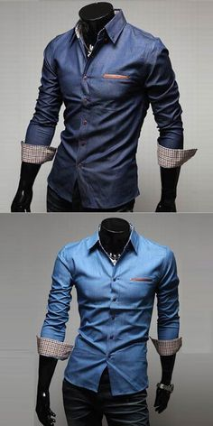 Men's Casual/Daily Simple Spring Fall Shirt