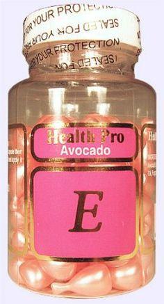 Vitamin E Skin Oil Avacado, 90 Softgels