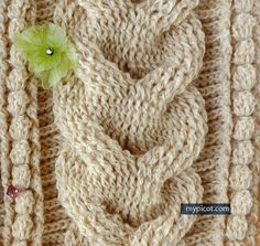 CROCHET CABLE MyPicot | Free crochet patterns*                                                                                                                                                                                 More